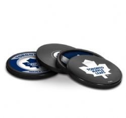 TORONTO MAPLE LEAFS -  4-PACK COASTER SET (OLD LOGO)