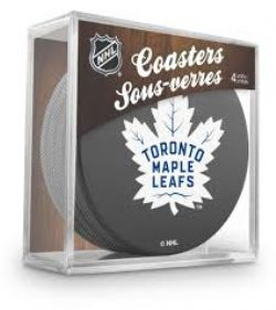 TORONTO MAPLE LEAFS -  4-PACK COASTER SET