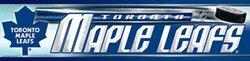 TORONTO MAPLE LEAFS -  BUMPER STICKER