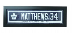 TORONTO MAPLE LEAFS -  FRAMED AUSTON MATTHEWS #34 (6