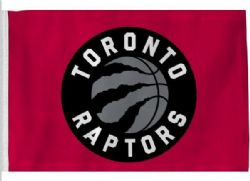 TORONTO RAPTORS -  3' X 5' HORIZONTAL FLAG