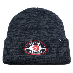 TORONTO RAPTORS -  BEANIE - GREY/BLACK