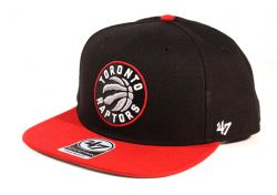 TORONTO RAPTORS -  BLACK/RED SNAPBACK CAP