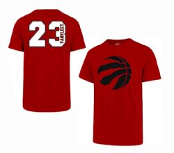 TORONTO RAPTORS -  FRED VANVLEET #23 T-SHIRT - RED