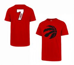 TORONTO RAPTORS -  KYLE LOWRY #7 T-SHIRT - RED