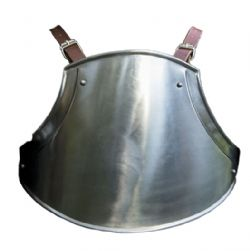 TORSO -  SCOUTS TORSO ARMOUR POLISHED STEEL LXL
