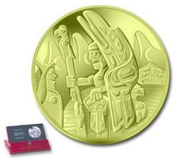 TOTEM POLE -  2005 CANADIAN COINS