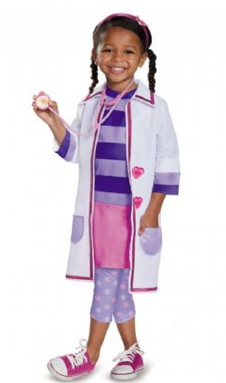 TOY HOSPITAL -  DOC MCSTUFFINS COSTUME (CHILD) -  DISNEY JUNIOR
