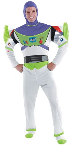 TOY STORY -  BUZZ LIGHTYEAR COSTUME (ADULT)