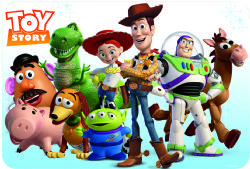 TOY STORY -  PLACEMAT - TOY STORY 4