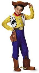 TOY STORY -  WOODY DELUXE COSTUME (CHILD)
