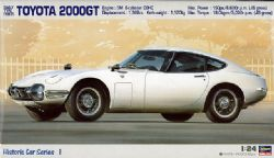 TOYOTA -  2000GT EARLY TYPE (1967) - 1/24