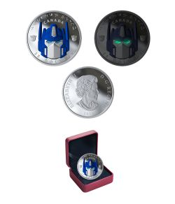 TRANSFORMERS -  TRANSFORMERS(TM): OPTIMUS PRIME(TM) - AUTOGRAPHED BY PETER CULLEN -  2019 CANADIAN COINS
