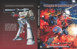 TRANSFORMERS -  USED BOOK - ART OF TRANSFORMERS PACKAGING TP (ENGLISH)