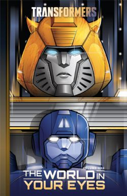 TRANSFORMERS -  USED BOOK - WORLD IN YOUR EYES HC (ENGLISH) 01