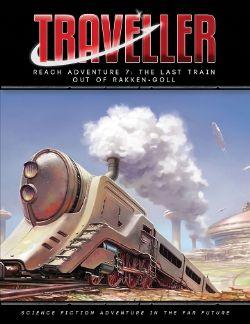 TRAVELLER -  THE LAST TRAIN OUT OF RAKKEN-GOLL (ENGLISH) -  REACH ADVENTURE 7