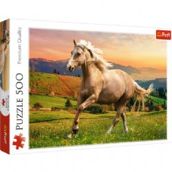 TREFL -  AFTERNOON GALLOP IN THE SUN (500 PIECES)