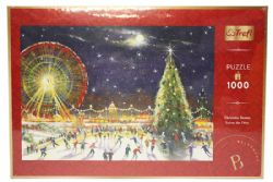 TREFL -  CHRISTMAS BIG WHEEL (1000 PIECES)