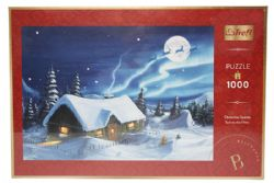 TREFL -  CHRISTMAS BLUE MOON (1000 PIECES)