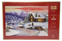 TREFL -  CHRISTMAS NIGHT AT THE COTTAGE (1000 PIECES)