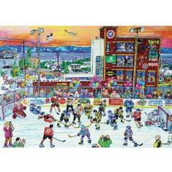 TREFL -  HOCKEY IN RIVIÈRE-DU-LOUP (1000 PIECES)