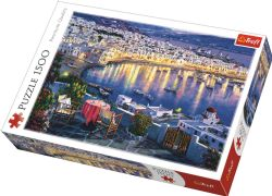 TREFL -  MYKONOS AT SUNSET (1500 PIECES)