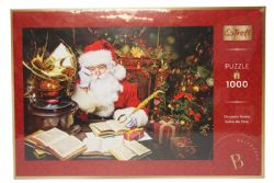 TREFL -  SANTA DEEP IN THOUGHT (1000 PIECES)
