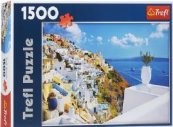 TREFL -  SANTORINI, GREECE (1500 PIECES)