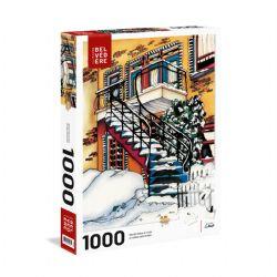 TREFL -  SNOWY BALCONIES (1000 PIECES) -  WORLD-CLASS ARTISTS