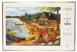TREFL -  SUMMER AT THE LOG CABIN (1000 PIECES)