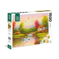 TREFL -  SWANS IN LOVE (1500 PIECES) -  LES INCONTOURNABLES