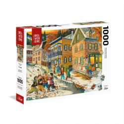 TREFL -  THE SCRIMMAGE (1000 PIECES) -  WORLD-CLASS ARTISTS