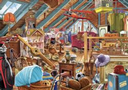TREFL -  TOYS IN THE ATTIC (1000 PIECES)