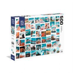 TREFL -  TRAVEL MEMORIES (500 PIECES) -  LES INCONTOURNABLES