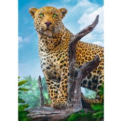 TREFL -  WILD LEOPARD (500 PIECES)