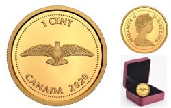TRIBUTE TO ALEX COLVILLE -  1967 1-CENT COIN -  2020 CANADIAN COINS 06