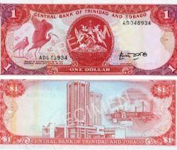 TRINIDAD AND TOBAGO -  1 DOLLAR 1985 (UNC)