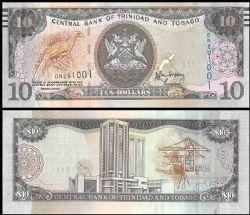 TRINIDAD AND TOBAGO -  10 DOLLARS 2006 (UNC)