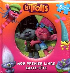 TROLLS -  MON PREMIER LIVRE CASSE-TÊTE