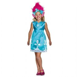 TROLLS -  POPPY COSTUME (CHILD) -  TROLLS 2 : WORLD TOUR