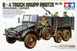 TRUCKS -  GERMAN 6X4 TRUCK KRUPP PROTZE (KFZ.70) - 1/35