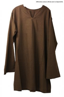 TUNICS -  LONG SLEEVE TUNIC - LINEN (ADULT - XLARGE)
