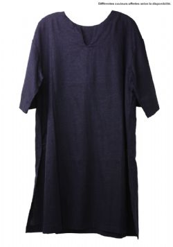 TUNICS -  SHORT SLEEVE TUNIC - LINEN (ADULT - SMALL)