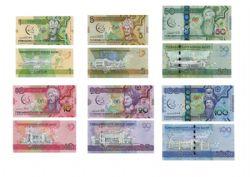 TURKMENISTAN -  SET OF 6 DIFFERENT
