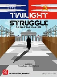 TWILIGHT STRUGGLE -  TWILIGHT STRUGGLE - DELUXE - THE COLD WAR, 1945-1989 (ENGLISH)