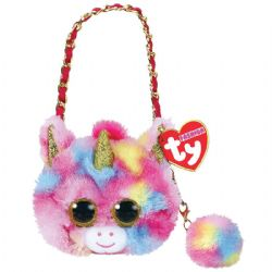TY FASHION -  FUR HANDBAG OF FANTASIA THE UNICORN (5