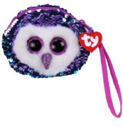 TY FASHION -  SEQUIN WRISTLET OF MOONLIGHT THE OWL (5