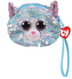 TY FASHION -  SEQUIN WRISTLET OF WHIMSY THE CAT  (4.5