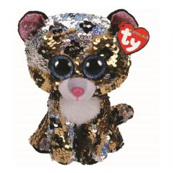 TY FLIPPABLES -  STERLING THE LEOPARD (6
