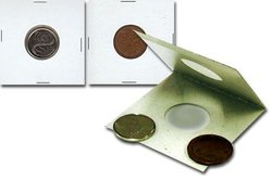 U-DO-IT STAPLE TYPE 2X2 FOR 1-CENT, 10-CENT AND SMALL 5-CENT COINS